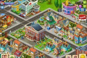 タウンシップ_プレイ画面