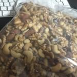 120キロからのダイエット:食前にミックスナッツを食べよう!でも食べ過ぎはダメ。