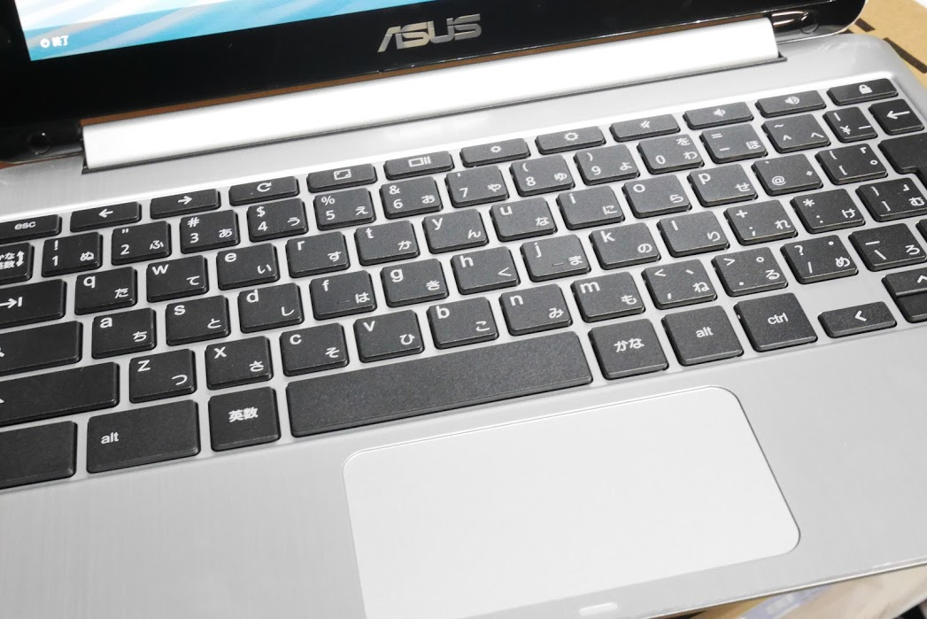 Chromebook-ASUS-C100PA-キーボード