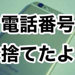 時代遅れの電話番号を捨てました。スマホ料金1,049円になって捗るわあ!