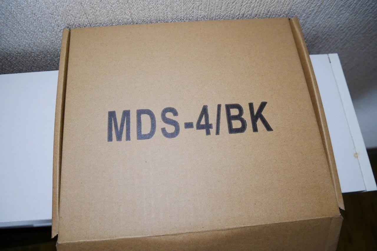 マイクスタンドの箱