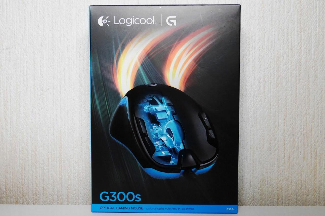 ゲーミングマウス-ロジクール-G300s-パッケージ