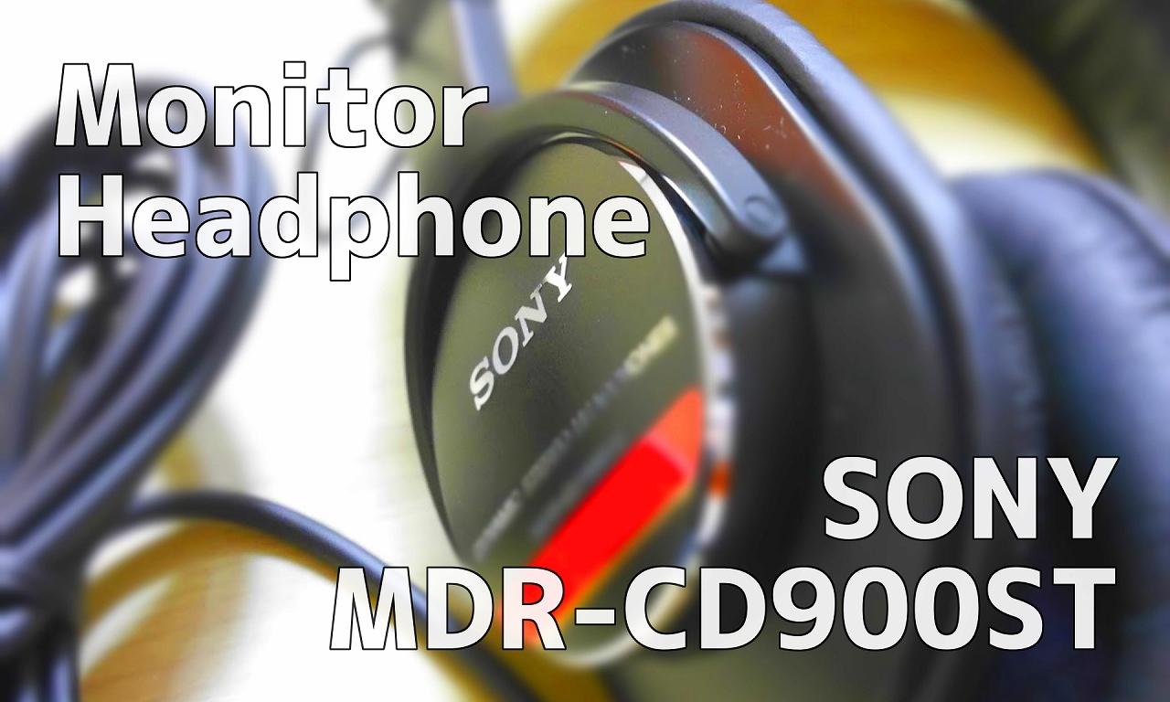 モニターヘッドホン-SONY-MDR-CD900ST