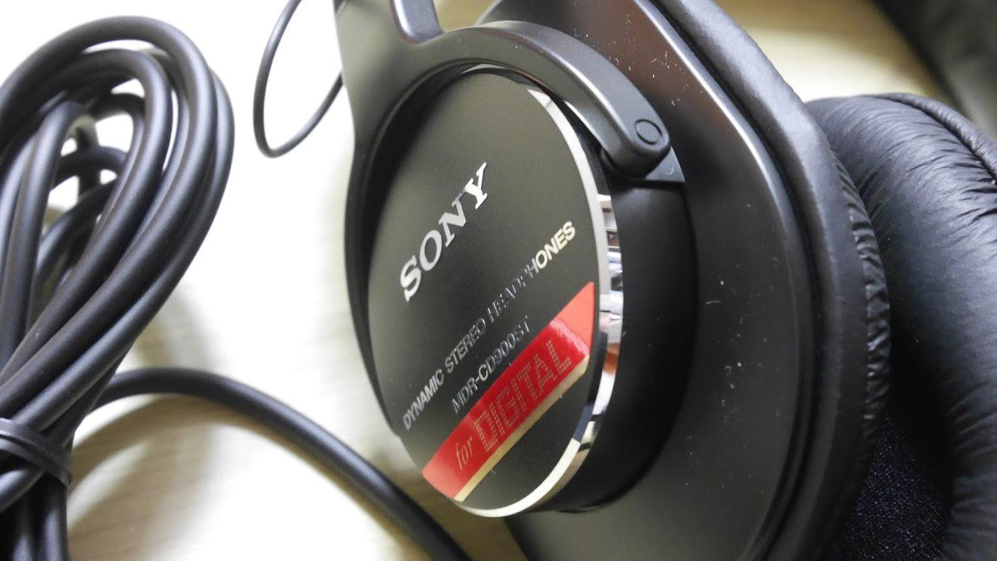 SONY-MDR-CD900ST-本体